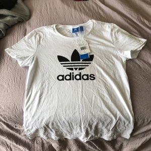 Adidas brand new logo tee
